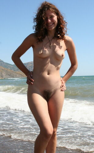 young hairy nudist